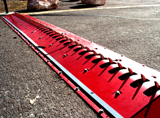Directional Traffic Control Spikes are known by many names, such as Traffic Spikes, Drive Way Tire Spikes, Tiger Teeth, Tire Spikes, Road Blockers, One Way Traffic Spikes, Parking Lot Spikes, Severe Tire Damage Spikes, Do Not Back Up Spikes, Spike Strips, Tire Killers, Tire Rippers, Tire Shredders, Motorized Traffic Spikes, Directional Traffic Control Spikes, RoadBlade Tire Shredder, Spike Barriers, Tyre Killers, Tiger Teeth, Road Blades, Vehicle Blockers, Tire Spikes, Road Spikes, Parking Lot Tire Spikes, Do Not Back Up Spikes, Do Not Enter Spikes, Tire Poppers, One Way Teeth