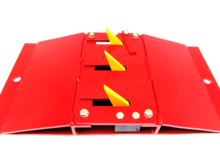 ROAD BLADE™ Surface Mounted 1 Foot One Way Traffic Spike - Can be shipped to APO & FPO